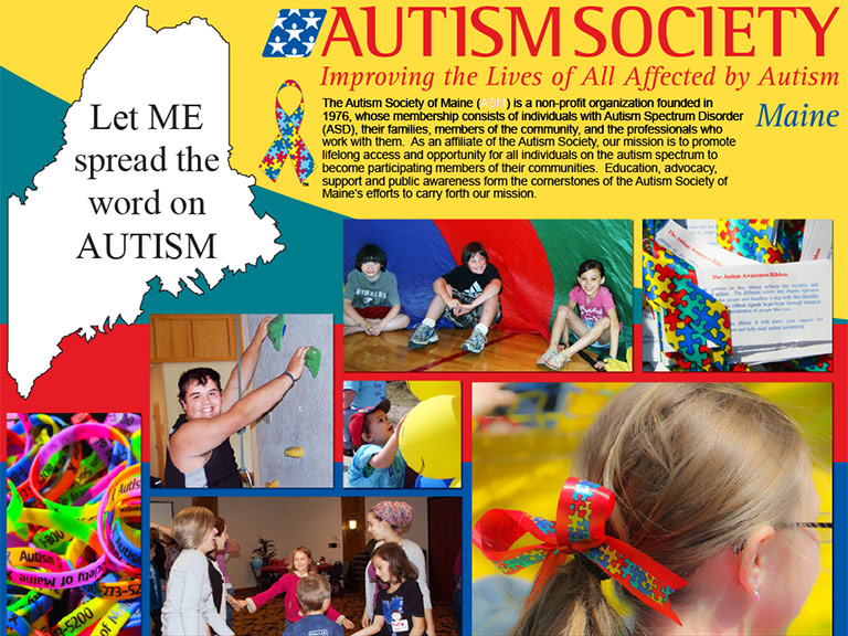 Autism Society of Maine Brochure